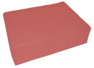 Heavy duty cloth wipes Red    30x40cm PKT of 20