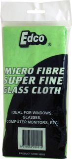 Microfibre Glass/Window cloths ea BLUE
