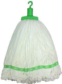 Microfibre Round Mop Green