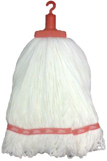 Microfibre Round Mop Red