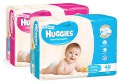 Nappy  Huggies  INFANT BOYS   144/ctn  42286