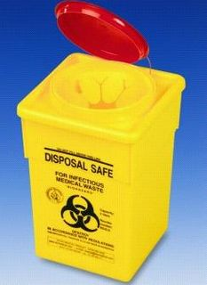 Sharps Container 4.5Ltr