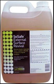 5L SoSafe Spray Away (mould) makes 30Ltr