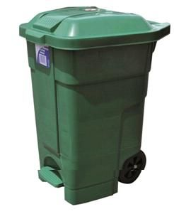 Heavy Duty Bin with wheels  70ltr GREEN