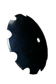 "24"" Scalloped Disc Blade - 1 1/4"" square axle"