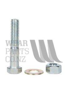 M10x50 Bolt/Nyloc Nut to suit Cast Point