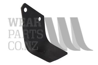 RH Rotary Hoe Std Blade to suit Kuhn and Howard 10mm