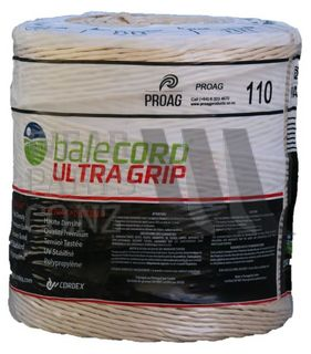 Balecord Ultra Grip Twine Cream, 1100m Spools, 110m/Kg