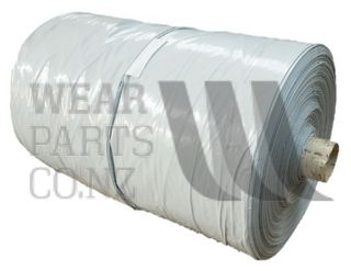 Silage Cover with Underlayer Bulk, Black/White 20m Wide x 300m Long