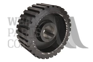 Friction Drive Roller 195x80mm to suit Grimme