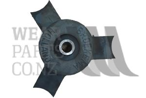 Rubber Shaker Open Bore M16