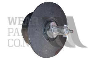 Flanged Roller Greasable 80x45mm to suit Grimme, flange 105mm.