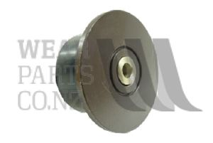 Flanged Roller 95x53mm to suit Grimme, flange 130mm