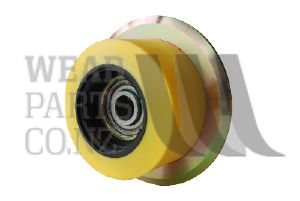 Flanged Roller 95x55mm to suit Grimme, flange 130mm