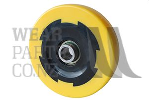 Roller 123x27.5mm to suit Grimme