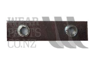 Threaded Plate 6x32mm