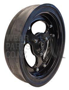 Spoked Gauge Wheel Assembly 4.5x16 - Heavy Duty