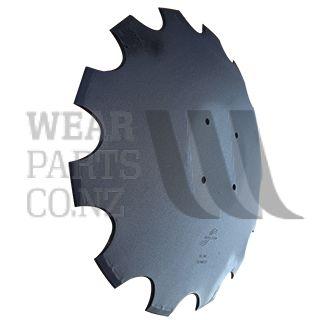 26 inch Scalloped disc Harrow blade to suit Amazone Certos