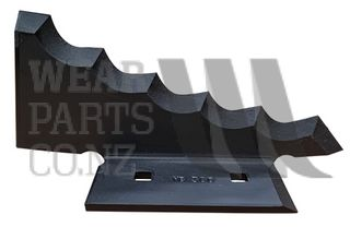 L.H Mixer Knife to fit Keenan # 701358 - carbide layer
