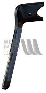 Tungsten Tiled LH Power Harrow blade to suit Amazone Super KG