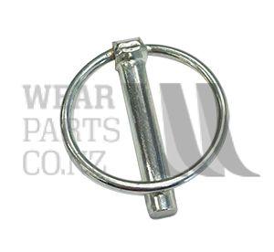 AG2 Linch pin Diameter 8mm, Length 36.5mm.