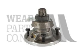 4 Bolt RH Bearing Hub to suit Overum Coulter with Shaft