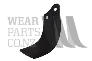 Rotary Hoe Blade to suit Celli HD Speed LH (10mm Thick)