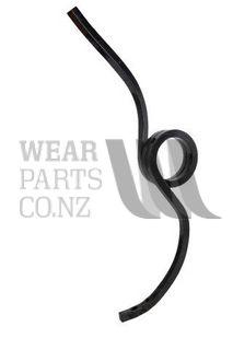 Coil Tine Rear LH 25x25