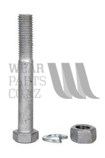Hex Bolt/Nut M12x120mm Gr8.8 Zinc