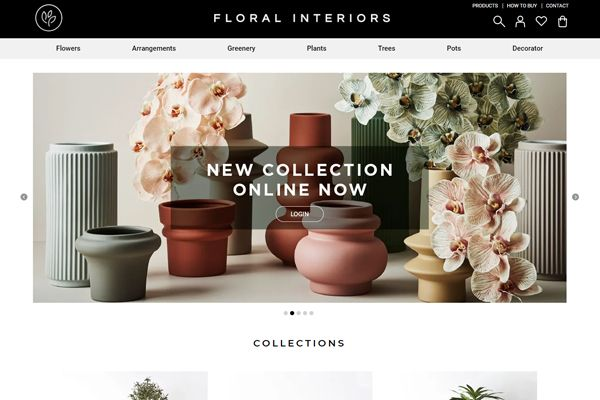 Floral Interiors - Ninja Pay