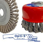 Introducing Weldclass Opti-5 Series Wire Brushes