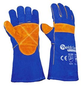 Promax Blue Welding Gloves