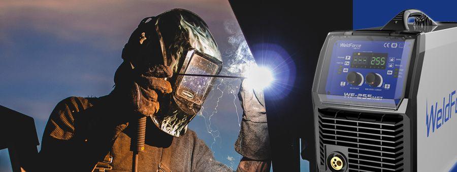 MMA stick welding hot start, arc force, anti-stick, open circuit voltage OCV