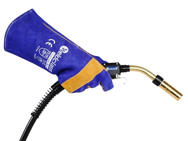 Promax Blue Welding Glove with MIG Torch