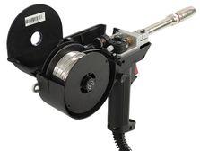 Spool gun MIG torch with aluminium wire