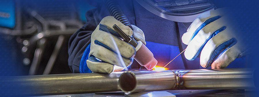 the TIG welding process