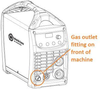 gas tig machine