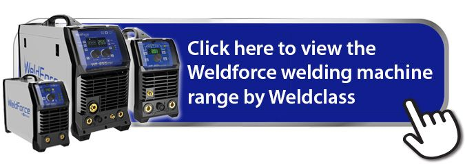 Weldforce welding machine range by Weldclass