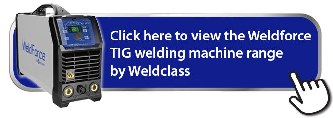 Weldforce TIG welding machine range by Weldclass