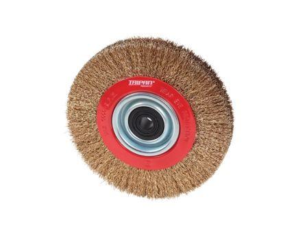 Pedestal Wheel Brushes - Crimped