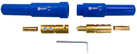 CABLE JOINER 500A  SET (BLUE)