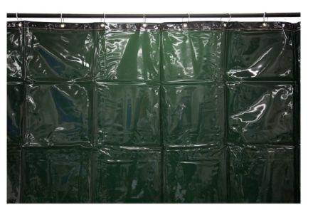 WELDING CURTAIN GREEN 1.8X5.5M