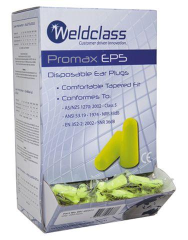 EAR PLUGS PROMAX EP5 (NO CORD) BOX 200PR