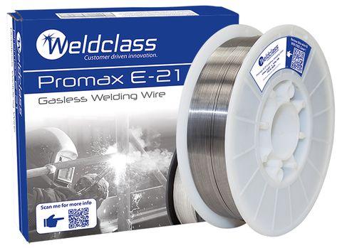 WIRE-GASLESS PROMAX E-21 0.9MM 4.5KG