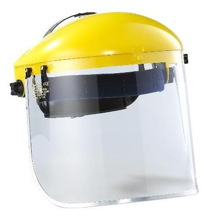FACE SHIELD COMPLETE -CLEAR