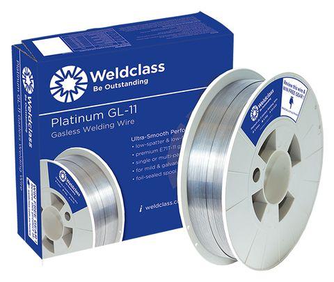 WIRE-GASLESS PLATINUM GL-11 0.9MM 4.5KG