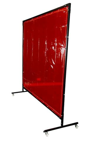 FRAME + CURTAIN KIT 1.8X2.0M H/D RED