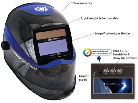 Welding Helmets - PROMAX 200
