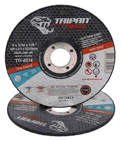 Cutting Discs - TAIPAN ORIGINAL Standard Inox