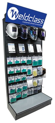 Display Stands - Welding Helmets & Lenses